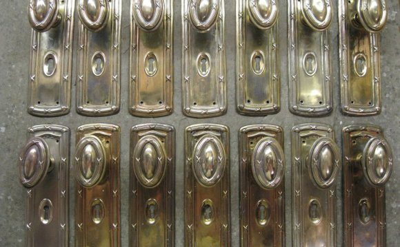 Door Knobs with Backplates