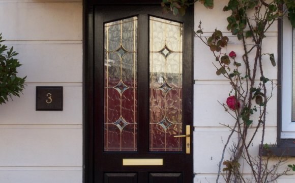 Front Doors: Coloured Double