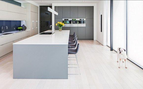 Blum hinges modern kitchen