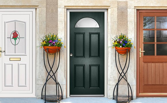 Most Exterior doors except any