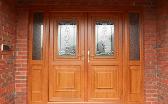 Golden-Oak-Double-Front-Door