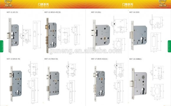 Opening door locks parts