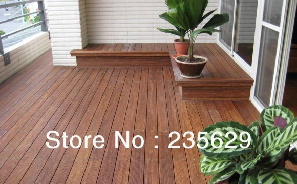 Ecofriendly Bamboo decking For