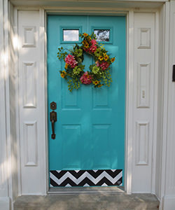 Designer Kick Plates for Your entry way