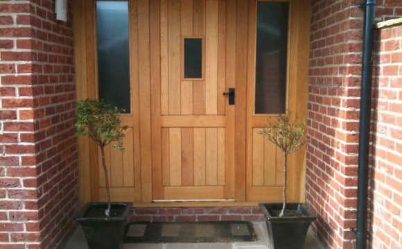 Wooden front doors UK