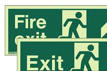 more information about Photoluminescent Fire Exit Marking