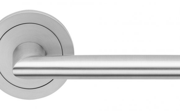 Stainless Steel Lever Door Handles