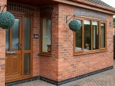B&Q uPVC doors external