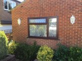 Brown uPVC doors
