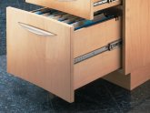 Cabinet drawer slides soft close