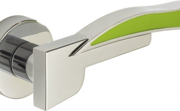 Coloured Door Handles