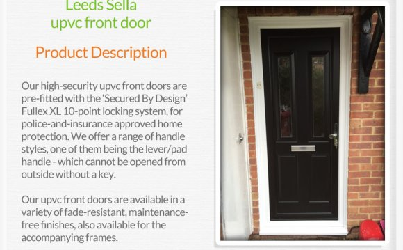 UPVC rear doors