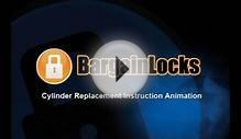 BargainLocks Door Lock Cylinder Replacement Video