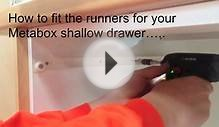 Blum Metabox - shallow replacement kitchen drawer box - 2