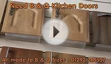B&Q Kitchen Doors and B and Q Kitchen Cupboard Doors