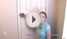 Childproofing Your Home - Door Safety - Lever Handle Lock
