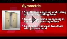 Hafele Sliding Door Solutions - Symmetric