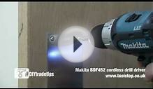 How to Fit D Handles and Push Plates to a Door - Makita