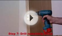 How to fit interior door handles