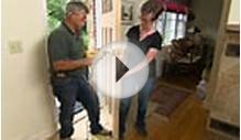 How to Hang a New Front Door in an Existing Frame