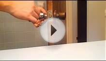 How To Install A Door Knob Or Replace An Interior Door Knob