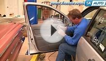How To Install Replace Door Handle Latch Cable Ford Focus