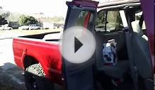 How to pull off the back half door panels on ford super duty