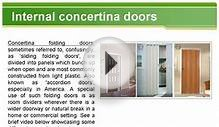 Interior doors - the basic types