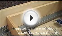 Knape & Vogt MUV Undermount Soft Close Drawer Slides