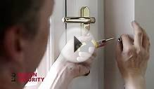 Police Approved Defender Door Chain for PVCu Doors