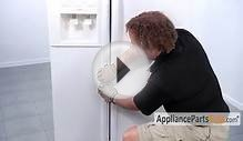 Refrigerator Door Handle - How To Replace