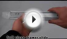 Soft Close Full Extension Drawer Slide - .wellany.com