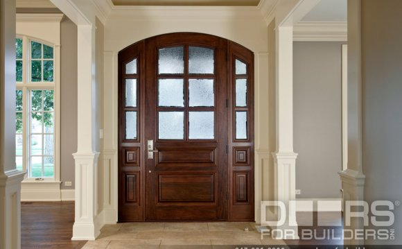 Solid wood front doors UK